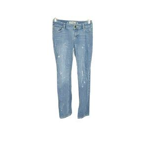Mossimo Distressed Skinny Jeans 9 Junior Size
